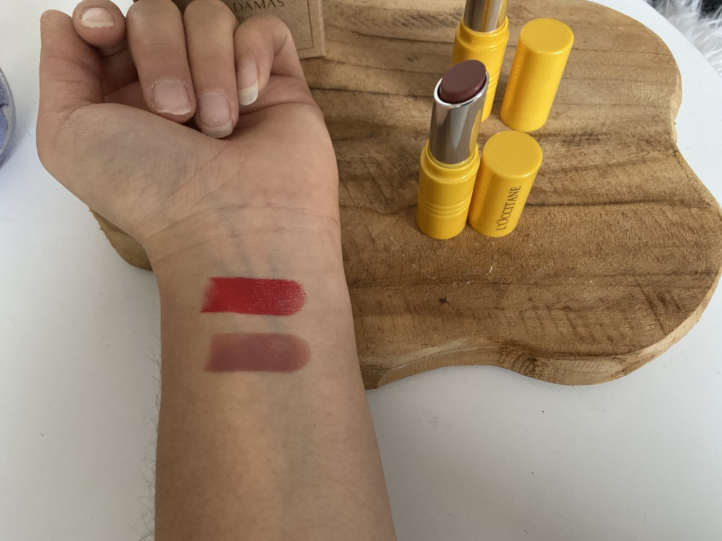 swatch rouge a levees longue tenue